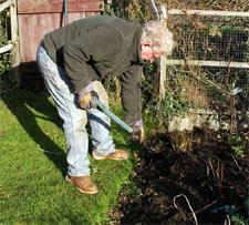 Le jardinage et le mal de dos...