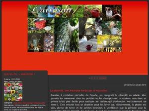 L\'arrosoir, blog de jardinage - http://larrosoir.over-blog.com/