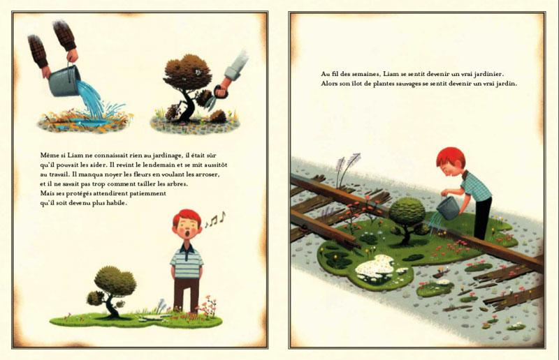 le jardin voyageur livre de peter brown
