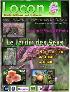Découverte de Plantes de Jardin d'Exception - LOCON - Mars 2010