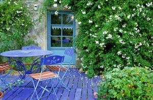 Petit jardin coloré