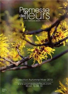 Promesse de Fleurs ? Catalogue automne-hiver 2010