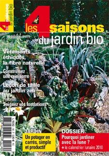 Le magazine les quatre saisons du jardinage f te ses 30 ans for 4 saisons du jardin bio