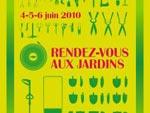 Rendez-vous aux jardins les 4, 5 et 6 juin 2010