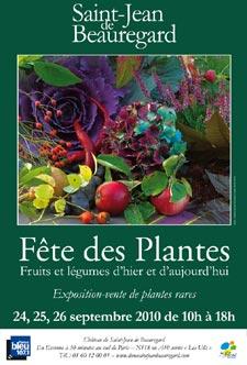 Fête des plantes, fruits et légumes d'hier et d'aujourd'hui - Saint Jean de Beauregard