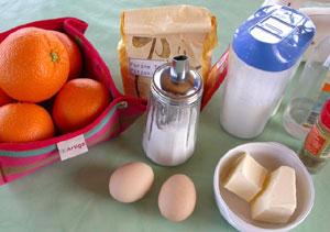 Salade d'oranges : ingrédients