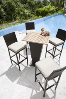 Mobilier de jardin id es shopping pour l 39 t 2010 - Salon jardin resine tressee carrefour ...