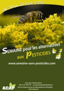 Semaine sans pesticides 2010 : du 20 au 30 mars
