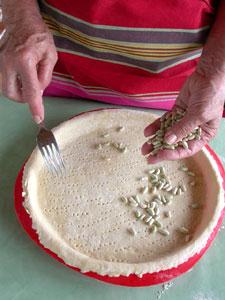Piquer la pâte