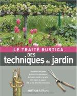 Le traité Rustica des techniques du jardin : couverture