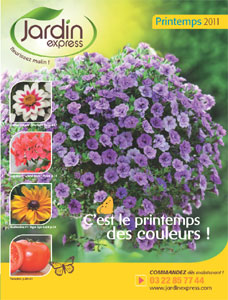 JardinExpress : catalogue printemps 2011