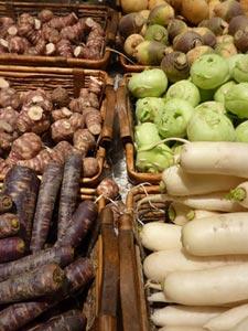 Légumes racines (rutabaga, navet, topinambour...)
