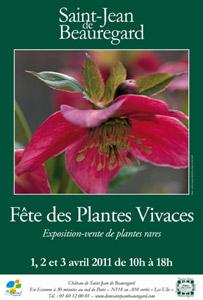 Fête des Plantes Vivaces de Saint-Jean de Beauregard 2011