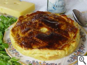 Tourte de pommes de terre «Bernadette» aux 2 fromages