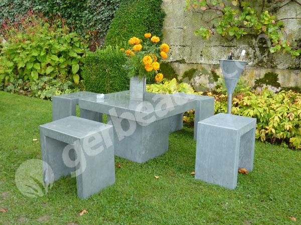 Zin zinc de mon jardin for Objet de decoration pour jardin