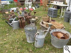 Le zinc au jardin : nos idées déco