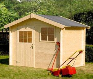 Choisir un abri de jardin - Faire son abris de jardin en bois ...