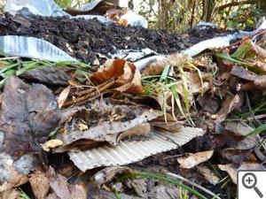 Empilement de matières humides et sèches