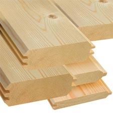 Planches abri de jardin en bois