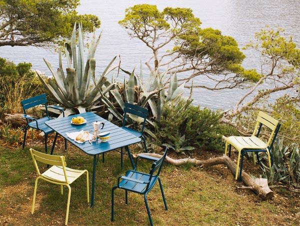 Mobilier de jardin Fermob : nouveautés 2011