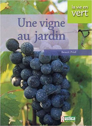 Une vigne au jardin : couverture