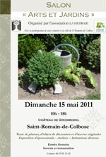 SALON ARTS ET JARDINS - Saint Romain de Colbosc - Mai 2011