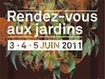 Rendez-vous aux jardins les 3, 4 et 5 juin 2011