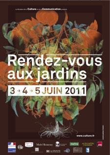 Rendez-vous aux jardins les 3,4 et 5 juin 2011