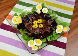 Salade de pourpier, betterave et gésiers - Ingrédients