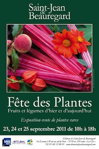 Fête des plantes à St Jean de Beauregard