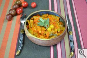Haricots plats à la tomate : présentation