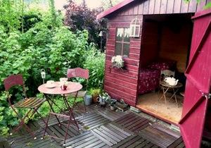 Abri de jardin - cabane pour enfants