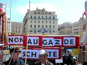 Mobilisation anti gaz de schiste