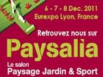 Salon Paysalia, du 6 au 8 décembre 2011