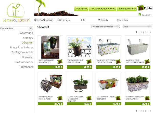Jardinage de balcon jardinage balcon sur enperdresonlapin for Boutique jardinage en ligne