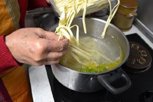 Faire cuire les pâtes