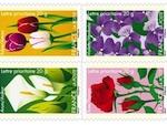 Timbres : en février, la Poste parle le langage des fleurs