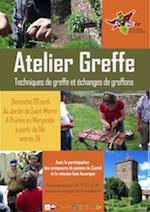 Atelier Greffe - Ruynes en Margeride - Avril 2012