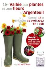 Vallee aux plantes et aux fleurs - Argenteuil - Avril 2012