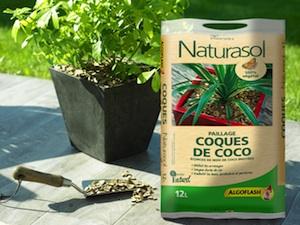 Paillage Coques de Coco Naturasol