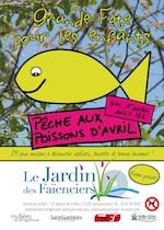 Poissons d'avril - fête d'ouverture de saison du jardin des faïenciers - Sarreguemines - Avril 2012