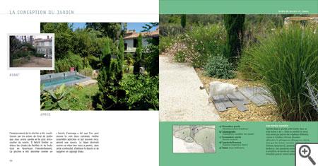 cr er un jardin sans arrosage de style m diterran en livre de jean jacques derboux. Black Bedroom Furniture Sets. Home Design Ideas