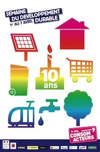 Du 1er au 7 avril 2012, c'est la semaine du Développement Durable