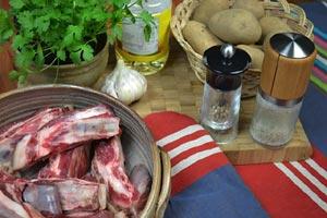 Ragoût de mouton : ingrédients