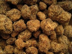 Sucre de coco en morceaux