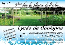 9e fete des plantes, de l'arbre, de l'aquaculture et de l'animalerie - COULOGNE - Septembre 2012