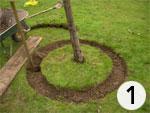 Creusement d'une tranchée circulaire