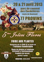 les Jolies Flores de Provins - Provins - Avril 2013