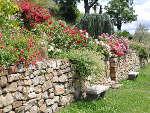 Murets au jardin