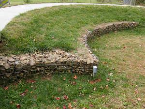 Murets au jardin for Petit muret de jardin